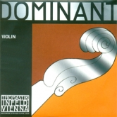 Dominant Violin Set - Steel Ball E, Alum D- med - 4/4 - Straight