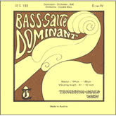 Dominant Bass E (II) String - Solo Tuning - 3/4