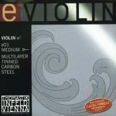 Dominant Violin E String Tin, Ball and Loop (e01) - medium - 4/4