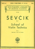 School of Violin Technics: Op. 1 Part 1