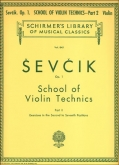 School of Violin Technics: Op. 1 Part 2