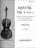 School of Bowing Technique for Cello, Op. 2 Part 6