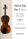 School of Technique Op.1 Part 2 for Viola