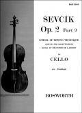 School of Bowing Technique for Cello, Op. 2 Part 2