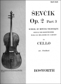 School of Bowing Technique for Cello, Op. 2 Part 3