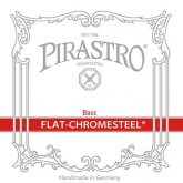 Flat Chromesteel Bass D String - medium - 3/4