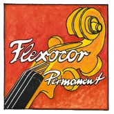 Flexocor-Permanent Violin Steel E String, Ball - medium - 4/4