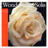 Wondertone Solo Silver D Violin String - medium - 4/4