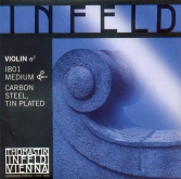 Infeld Blue Violin E String - medium - 4/4