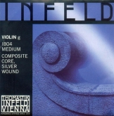 Infeld Blue Violin Set with Steel E - medium - 4/4