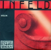 Infeld Red Violin Set with Steel E - medium - 4/4