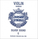 Jargar Violin Silver Sound G String - medium - 4/4