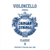 Jargar Cello D String - medium - 4/4
