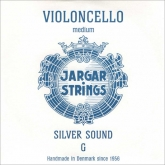 Jargar Silver Sound Cello G String - medium - 4/4