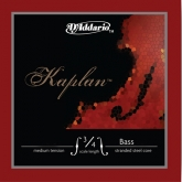 Kaplan Bass D String, medium - Straight