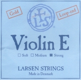 Larsen Violin Gold E String, Loop - strong - 4/4
