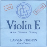 Larsen Violin Gold E String, Ball - soft - 4/4