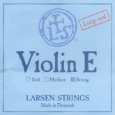 Larsen Violin Steel E String, Loop - strong - 4/4