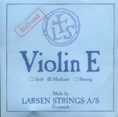Larsen Violin Steel E String, Ball - medium - 4/4