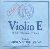 Larsen Violin Steel E String, Ball - soft - 4/4
