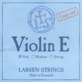 Larsen Violin Steel E String, Loop - soft - 4/4