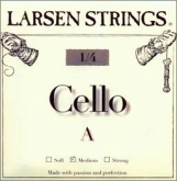 Larsen Fractional Cello A String - medium - 1/4