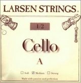 Larsen Fractional Cello A String - medium - 1/2