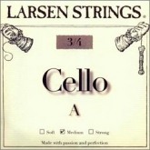 Larsen Fractional Cello A String - medium - 3/4
