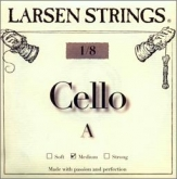 Larsen Fractional Cello A String - medium - 1/8