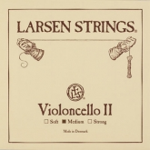 Larsen Cello D String - medium - 4/4