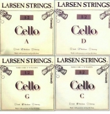 Larsen Fractional Cello Set (C and G Wire Core) - medium - 1/2