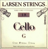 Larsen Fractional Wire Core Cello G String - medium - 1/8