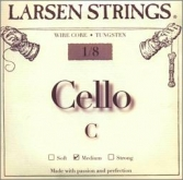 Larsen Fractional Wire Core Cello C String - medium - 1/8