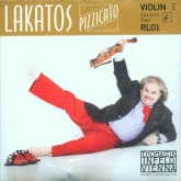 Lakatos Violin Steel E String - medium - 4/4