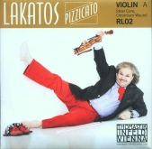 Lakatos Violin A String - medium - 4/4