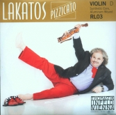 Lakatos Violin D String - medium - 4/4