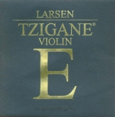 Larsen Tzigane Violin E String - steel ball - medium - 4/4