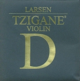 Larsen Tzigane Violin Silver D String, medium - 4/4