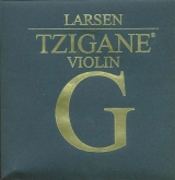 Larsen Tzigane Violin Silver G String, medium - 4/4