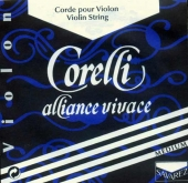Corelli Alliance Vivace Violin E String, Ball - medium - 4/4