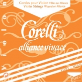 Corelli Alliance Vivace Violin E String, Ball - forte - 4/4