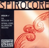 Spirocore Violin E String - medium - 4/4