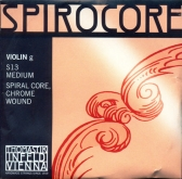 Spirocore Violin Chrome G String - medium - 4/4