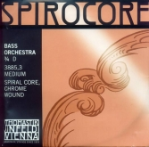 Spirocore Orchestra Bass String D - medium - 3/4