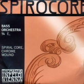 Spirocore Orchestra Bass String E - medium - 3/4