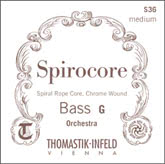 Spirocore Orchestra Bass String C (V) - medium - 3/4