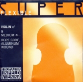 Superflexible Violin E String - medium - 4/4