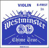 Westminster Violin E String, Ball - 25 - 4/4