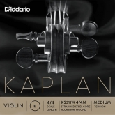 Kaplan Solutions Violin E String, Ball - medium - 4/4