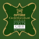 Goldbrokat Premium Gold Violin String - E 26 - 4/4 - Ball